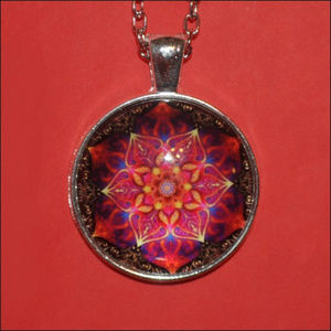 Jewelry - Silver Dome Necklace